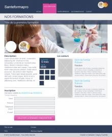 """Santé Formapro - Page """"Formation"""""""